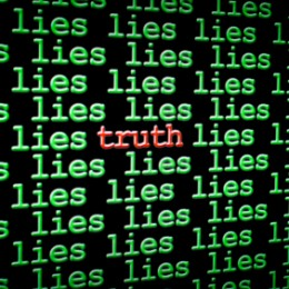 iStock_000017725540XSmall_truth among the lies